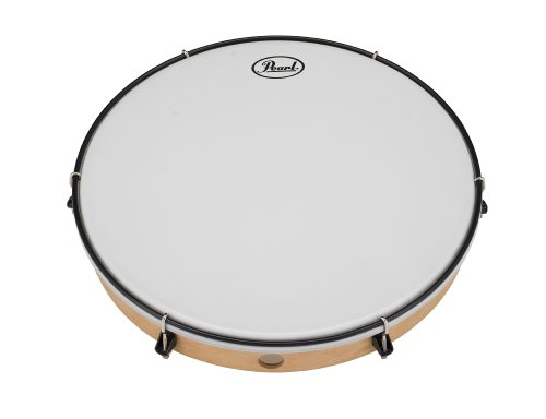 Pearl PFR14C 14-Inch Frame Drum with Lugs and Coated Heads by Pearl