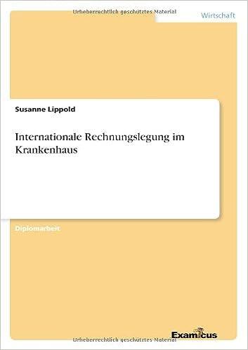 Internationale Rechnungslegung im Krankenhaus