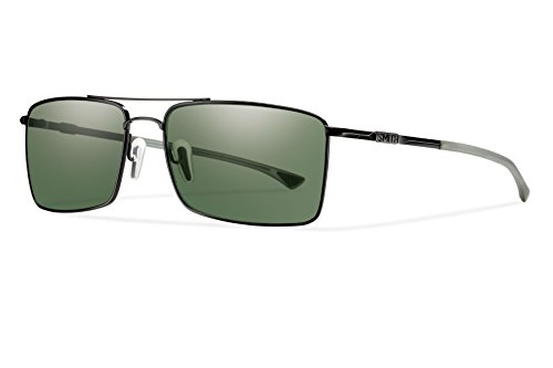 Smith Optics Outlier TI Lifestyle Polarized Sunglasses, Matte Black/Chromapop Gray - Ti Sunglasses