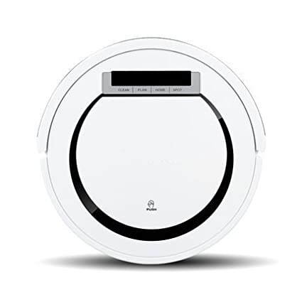 JJYJQR Robot Aspirador Barredora Al Vacío Robot Vacuum Cleaner, Blanca