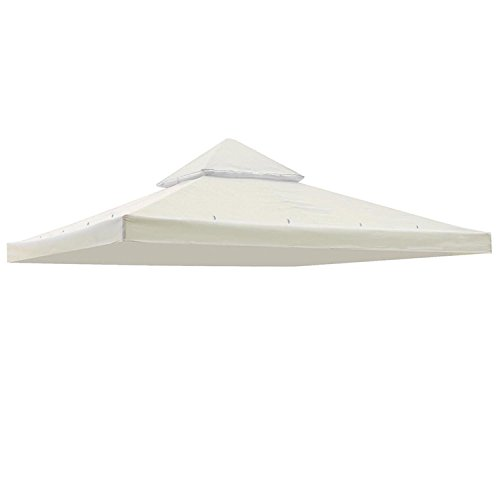 Wholesale Koval Inc. 10'x10' Square Replacement Top for Canopy Gazebo (Ivory) hot sale