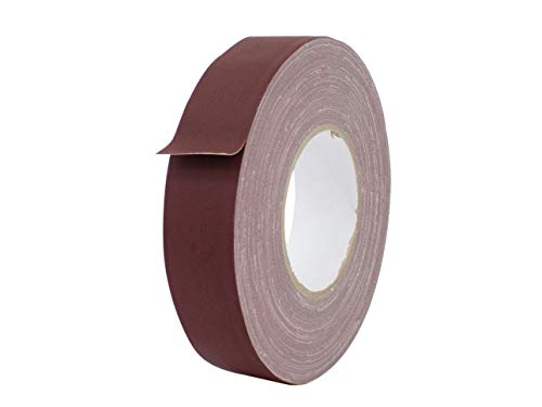 (MAT Gaffer Tape Burgundy Low Gloss Finish Film - 1.5 inch x 60 Yds. Bulk Case 32-Rolls - Residue Free, Non Reflective, Better Than Duct Tape (Available in Multiple Colors))