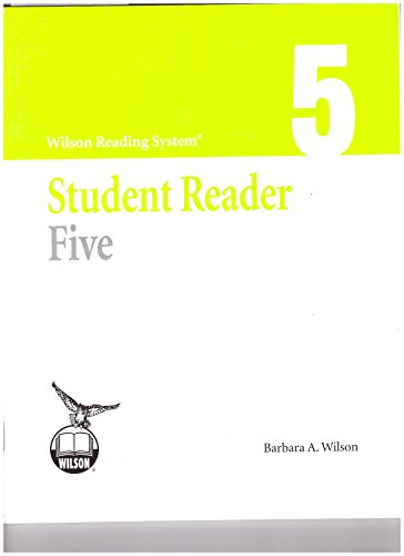 - Wilson Reading System Student Reader Five