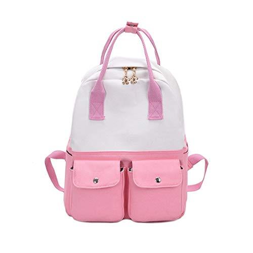 Unisex Gran adulto Capacidad Igspfbjn Pink Popular Pink Ligera Mochila De color YR0AAxwEq