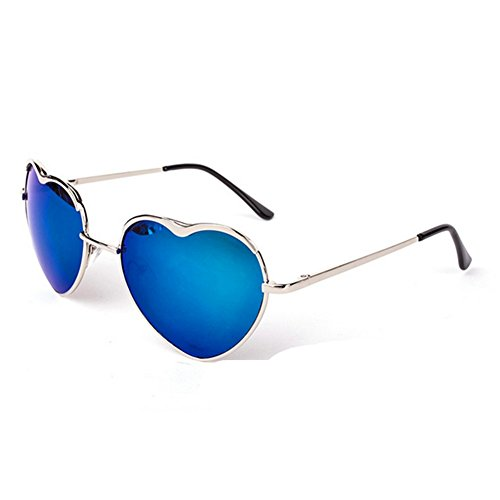 HaiBote Love Heart Womens Metal Frame - Invented Bifocal Lens Who
