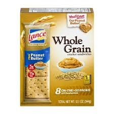 eat Peanut Butter Cracker Sandwiches 8 count (1 Box) ()