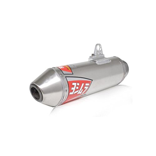 Oval Race Slip Ons (Yoshimura TRC Polished Stainless Steel Tri-Oval Slip On Exhaust System - One)
