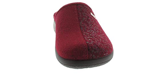 Rouge Rouge 36 EU Rohde Femme Rouge Chaussons pour vxqBO