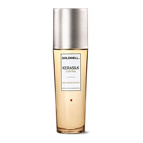 Goldwell Kerasilk Control Rich Protective Oil Color Protection, Anti-Humidity Intense Shine - 2.5oz