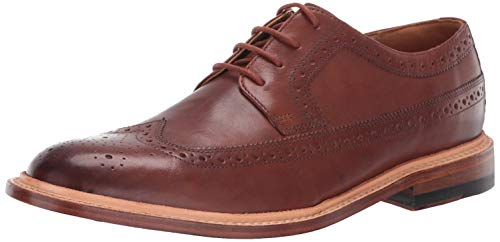 Bostonian Men's No16 Soft Wing Oxford, Dark Tan Leather, 100 M US