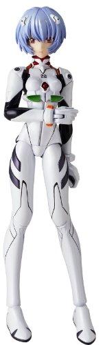 Neon Genesis Evangelion Revoltech Fraulein Super Poseable Action Figure #019 Rei Ayanami