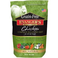 Evanger'S 776418 Grain Free Chicken, Sweet Pot, Pumpkin Dry Dog Food, 33-Pound Review