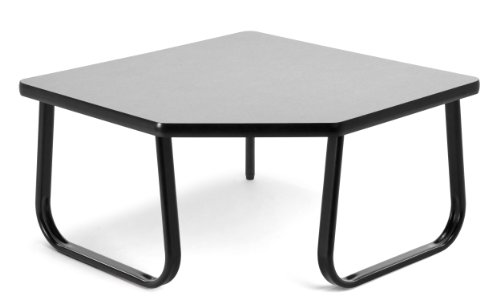 OFM TABLE3030-GRAY Corner Table, 30 by 30-Inch, Gray by OFM