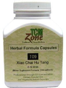 TCMzone - Xiao Chai Hu Tang - Minor Bupleurum Formula 100 Capsules (4 Formula Min)