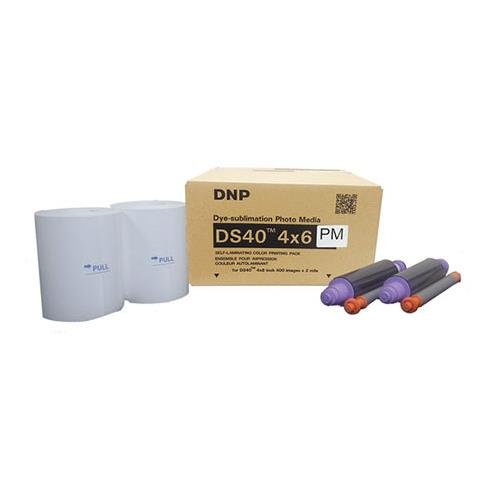 DNP DS40 4'' x 6'' Dyesub Printer Paper, 800 Glossy Prints by DNP (Image #1)