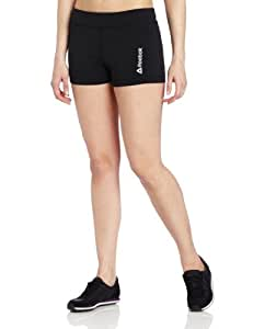 Reebok Women's Hot Shorts, Black, Large