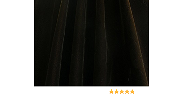 Double Velvet Dark Brown Fabric  44 Wide  Sold By The Yard