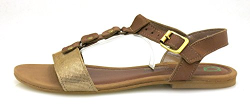 Sandal Conhac Wood Innocent ad04 Shoes Leather Leather Comfortable 184 Summer Sandal qPBUPvt