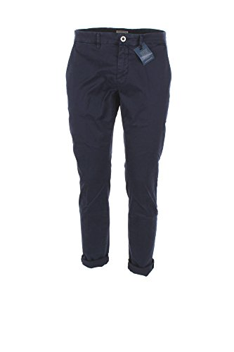 Pantalone Uomo Siviglia 42 Blu B2e6 S001 Autunno Inverno 2017/18