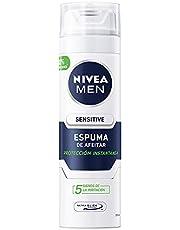 Nivea Men Espuma Para Afeitar Piel Sensible Sensitive, 200ml