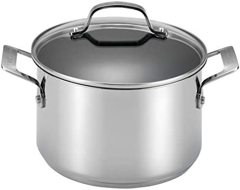Circulon 77883 Genesis Stainless Steel Dutch Oven, 5-Quart,