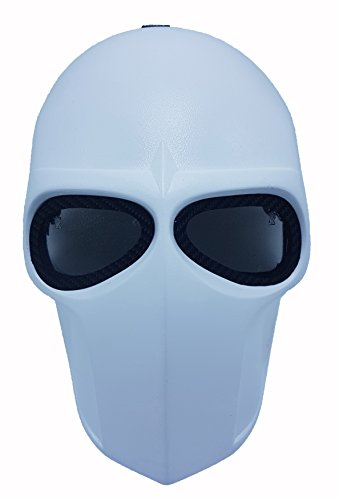 Invader King ® Flat White Double Set Army of Two Airsoft Mask Protective Gear Outdoor Sport Fancy Party Ghost Masks Bb Gun by INVADER KING
