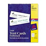 AVE5305 - Avery Medium Embossed Tent Cards