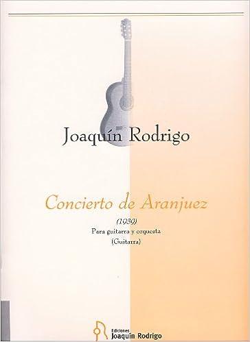 RODRIGO - Concierto de Aranjuez para Guitarra y Piano: Amazon.es: RODRIGO: Libros
