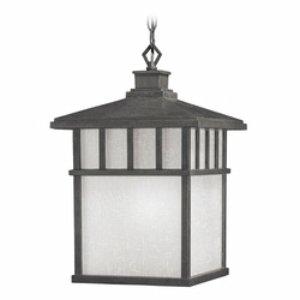 Craftsman Style Hanging Porch Light
