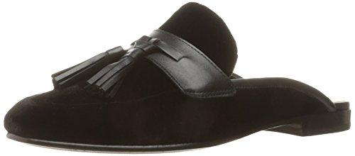 Sam Edelman Womens Paris Slip-On Loafer Black Velvet