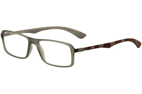 8220683e0743 Ray-Ban RX8902 - 5481 Eyeglass Frame Grey Carbon Fiber 54mm