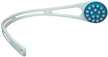 Hydas Easy Free Rückencremer Plus, 50-Jahre-Jubiläums-Edition mit Duschschwamm Griff: 67.5 cm Kopfdurschmesse: ca. 8.8 cm