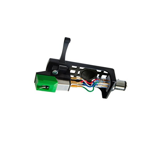 Audio-Technica AT95E/HSB Headshell/Cartridge Combo Kit (AT95E Cartridge and AT-HS10BK Headshell)