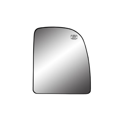 - Fit System 30237 Ford Right Side Heated Power Replacement Mirror Glass with Backing Plate