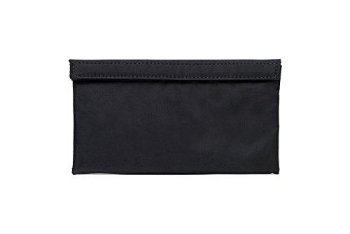 Abscent il banchiere borsa riutilizzabile odor-absorbing sacchetto, nero