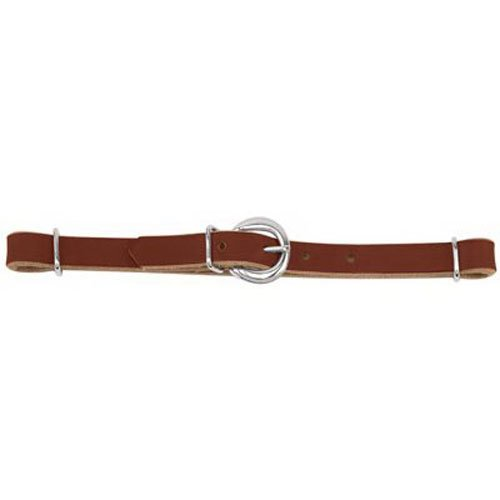 Weaver Leather Curb Strap - Weaver Leather Horizons Straight Harness Leather Curb Strap