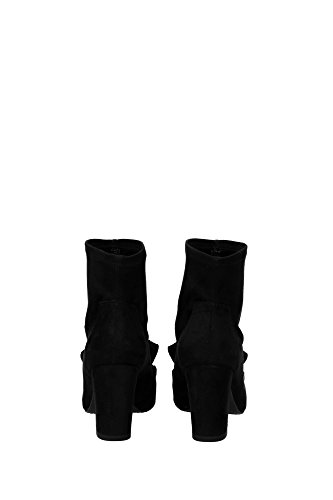 UL37045NOIR Stuart Weitzman Botines Mujer Gamuza Negro Negro