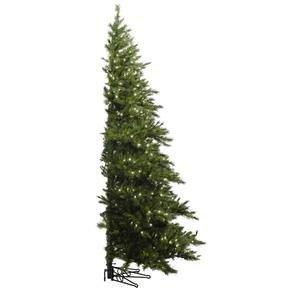Vickerman Pre-Lit Westbrook Pine Half Tree with 500 Clear Dura-Lit Lights, 7.5-Feet, Green