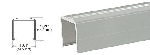 Agate Gray Bottom Rail for Pickets 241
