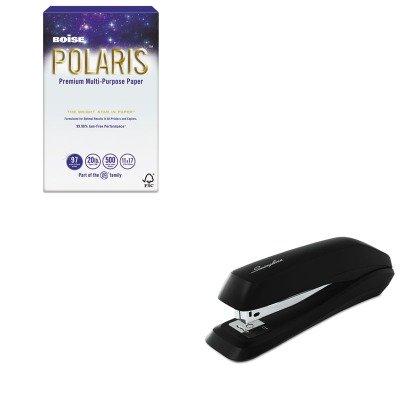 KITCASPOL1117SWI54501 - Value Kit - Boise POLARIS Copy Paper (CASPOL1117) and Swingline Standard Strip Desk Stapler (Polaris Standard Desk)