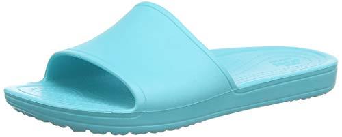 Sloane A Blu Women pool 40m Sandali Aperta Crocs Slide Punta Donna FOW6Wna