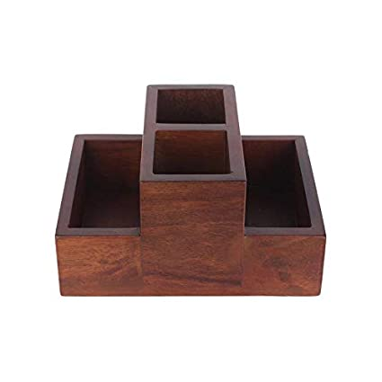 Buy Wrap Your Wish Wooden Cutlery Stand Online At Low Prices