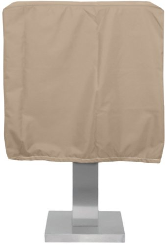 KoverRoos Weathermax 43051 Pedestal Barbecue Cover, 19-1/2-Inch Diameter by 28-Inch Width by 19-Inch Height, Toast