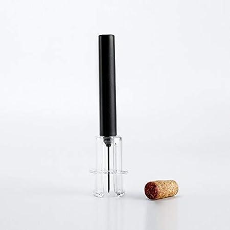 Sacacorchos de Camareros Presión 4PCS del corcho del vino de la botella de vino de la bomba removedor del abrelatas de la botella de vino contiene Abrelatas del vino vertedor vacío Plug and lámina cor