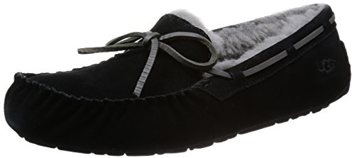 UGG Men's Olsen Moccasin, Black, 7 US/7 M US