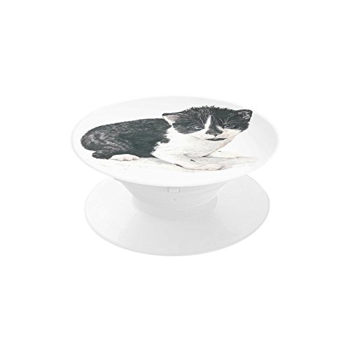 Customized Ogie The Kitten Multi-Aim Phone Holder Expanding Stand and Grip