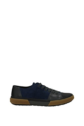 Uomo Prada Camoscio Blu 4e3058scamosciatovi Sneakers Eu 7OqwzR5