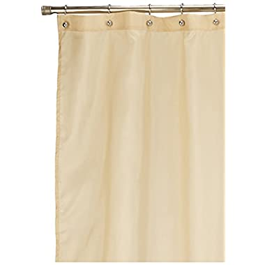 Lush Decor Mia Shower Curtain, 72 by 72-Inch, Wheat/Taupe/Chocolate