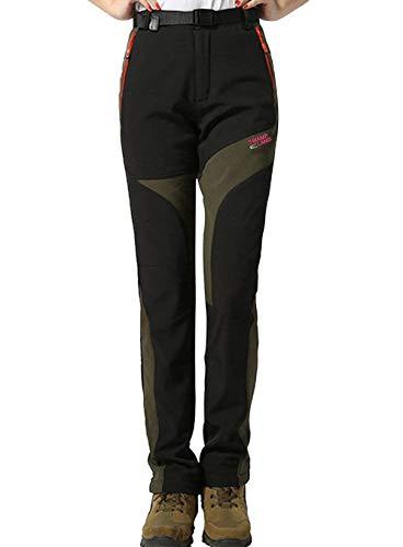 Escursionismo nero Softshell Da 01 Alpinismo Montagna Sci Impermeabili Donna Pantaloni Trekking Haines Invernali xwgOB8q