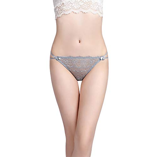 HYIRI Classic Lace Panties Briefs Clothes,Women's Sexy Transparent Underwear Elastic Lingerie